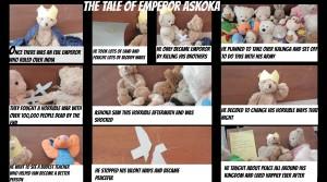ASHOKA THE EMPEROR - TOLD WITH TEDDIES